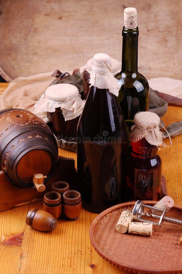 Bebidas tradicionales imagen de archivo libre de regalías