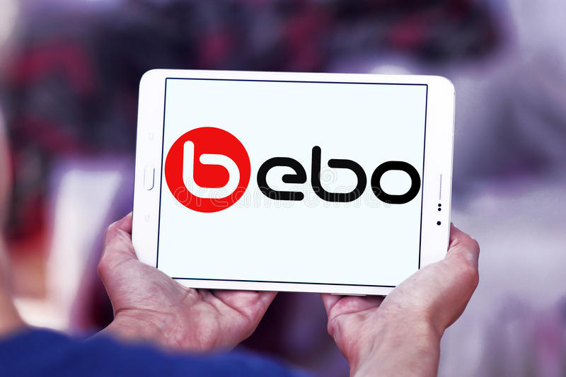 Bebo-Social Networking-Websitelogo lizenzfreies stockfoto