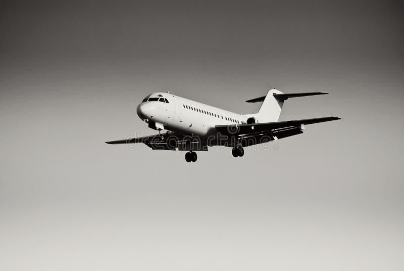 Beca de Fokker F28-4000 imagen de archivo