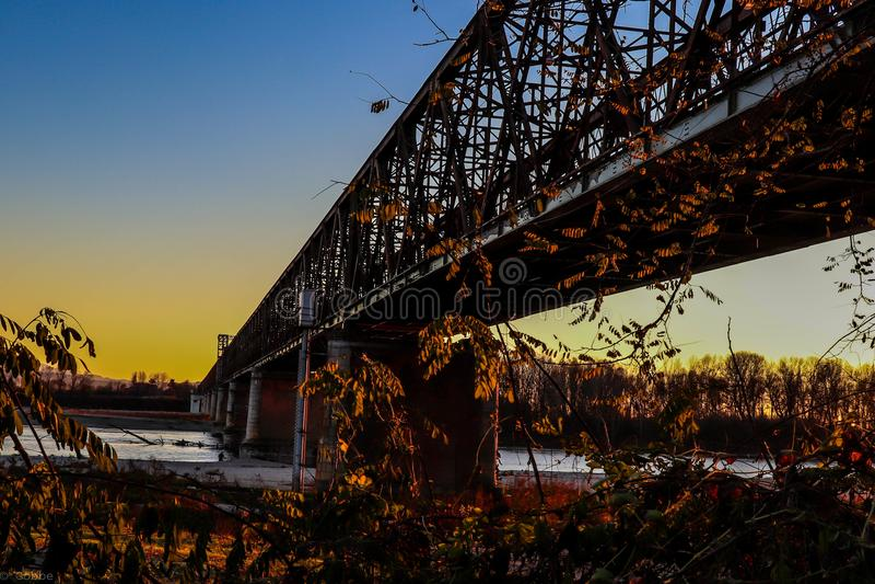 Becca' s-Brücke lizenzfreies stockbild