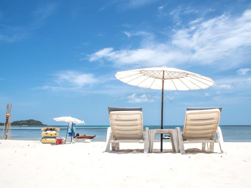Bech, feriado, férias, exteriores, verão, céu, mar, azul, céu fotos de stock