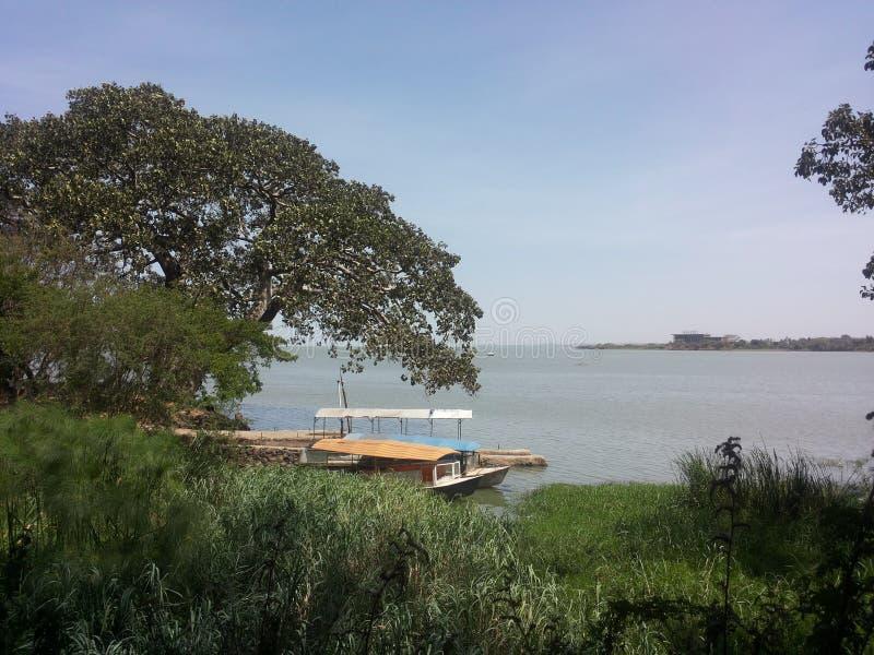 Bech Tana lake stock photo