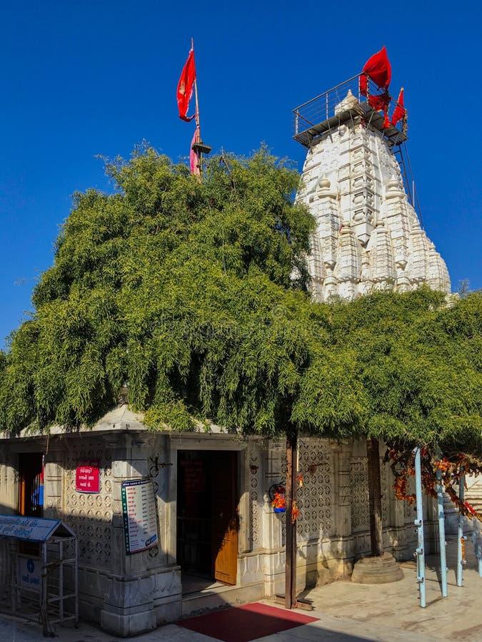 Becharaji或Bahucharaji寺庙马赫萨那县古杰雷特,印度 免版税图库摄影
