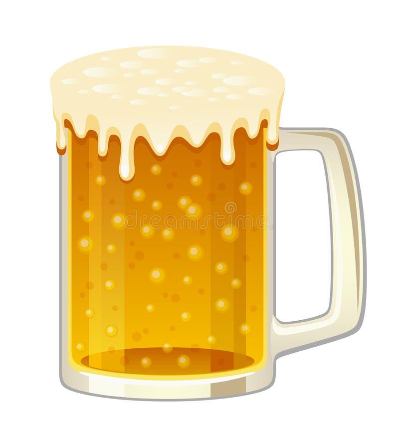 Becher Bier vektor abbildung