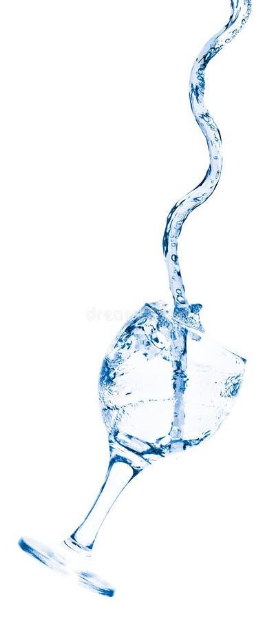 Becher mit Wasser stockfotos