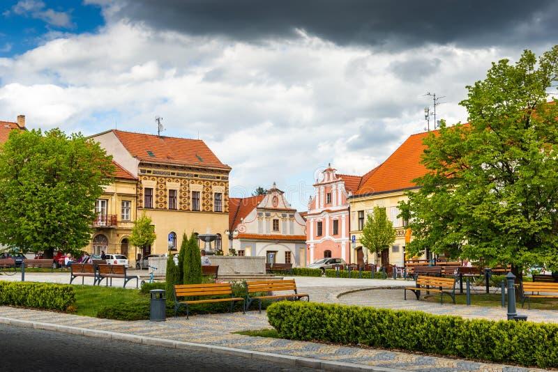 Bechyne - old city in South Bohemian region, Czech republic royalty free stock image