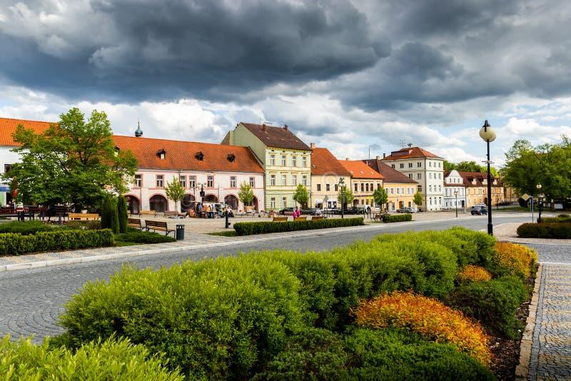 Bechyne - old city in South Bohemian region, Czech republic stock photos