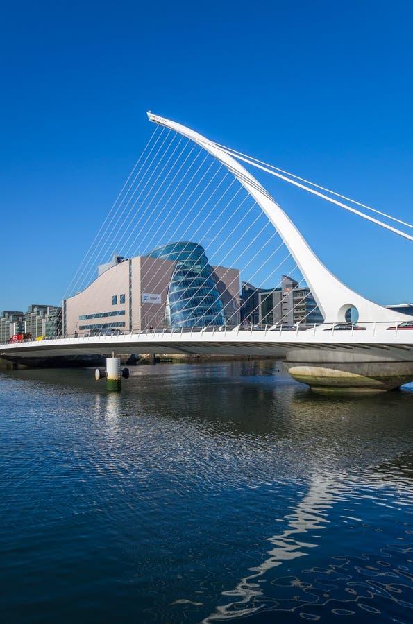 beckett γέφυρα Δουβλίνο Samuel στοκ φωτογραφίες με δικαίωμα ελεύθερης χρήσης