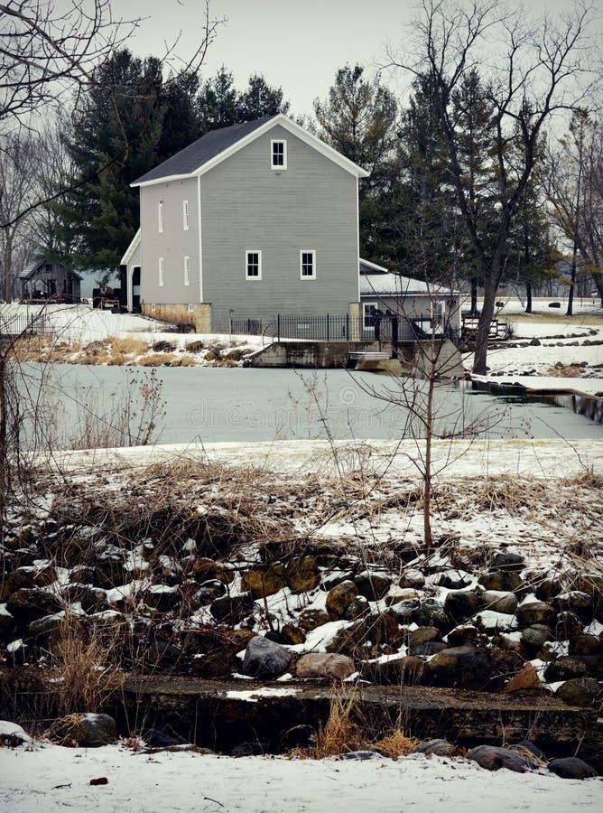 Beckman-Mühle lizenzfreie stockbilder