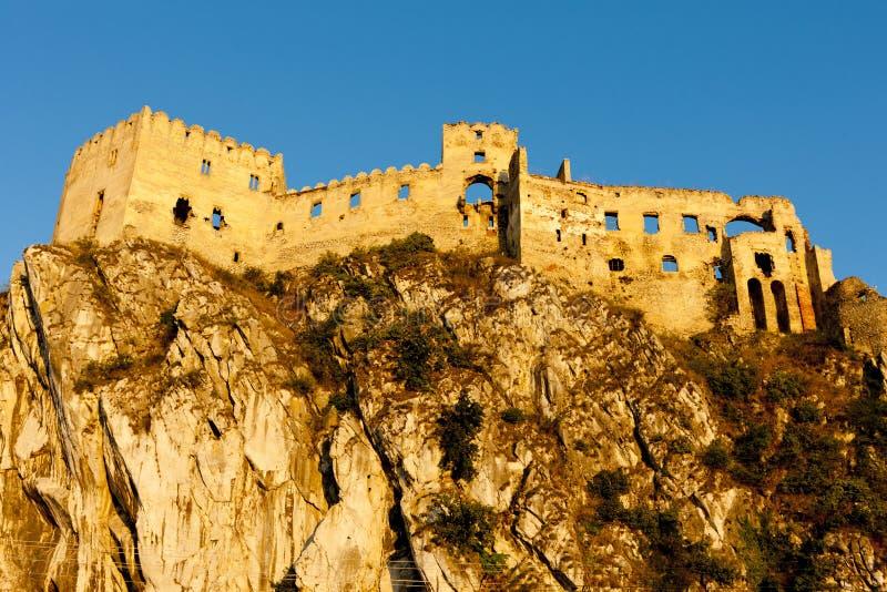 Beckov Castle stock photography