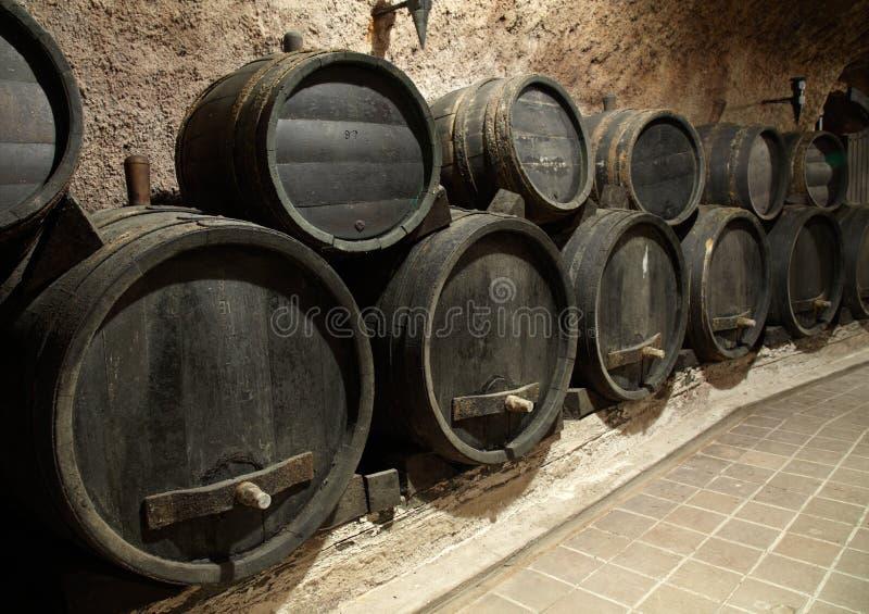 beczki wino zdjęcie royalty free