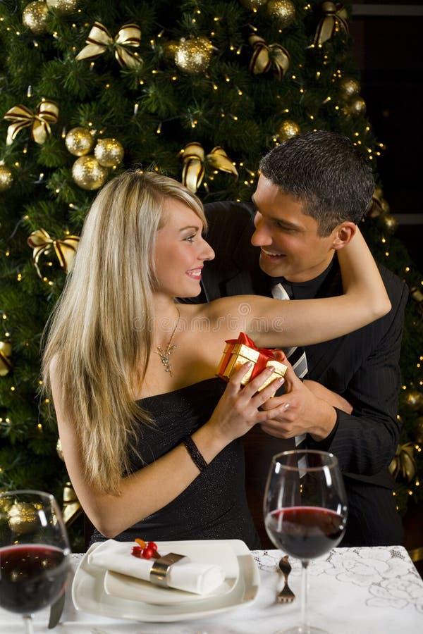 bedårande glatt mitt för jul royaltyfria bilder