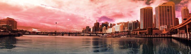 bedårande hamn arkivbilder