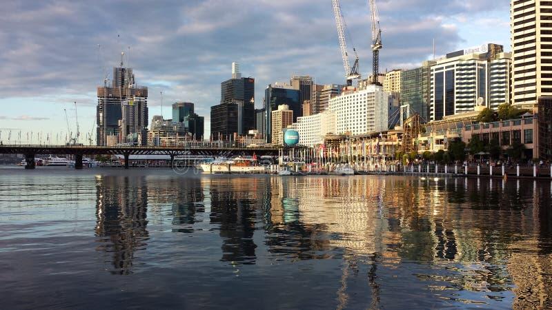 bedårande hamn fotografering för bildbyråer