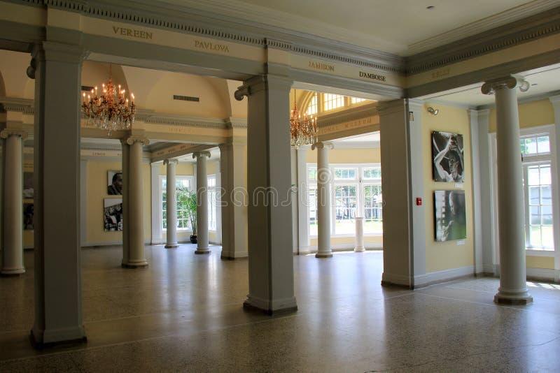 Bedöva inreskottet, nationellt museum av dansen, Saratoga, NY, 2015 royaltyfria foton