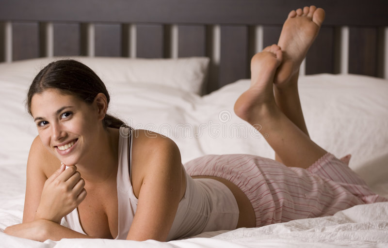 Download In Bed 10 Stock Image - Image: 203981