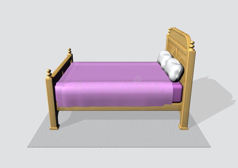 Bed vector illustration