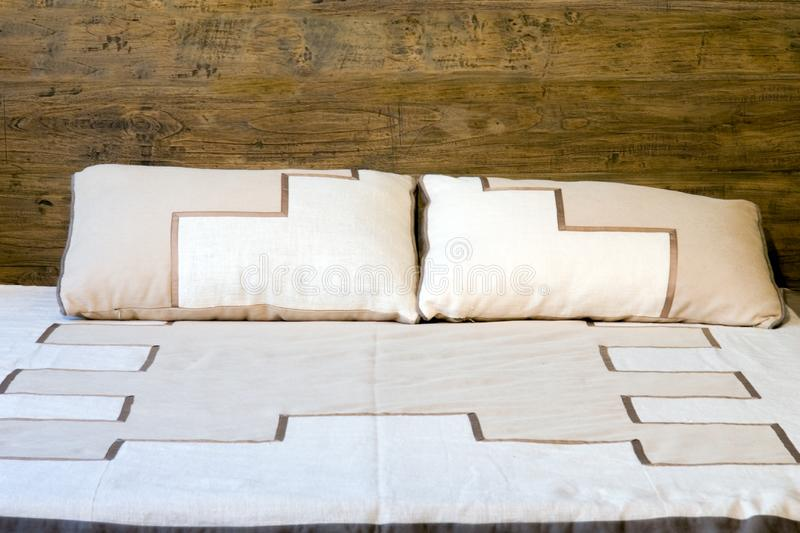 Bed stock image