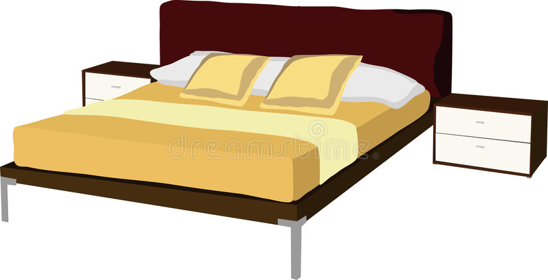 Download Bed Stock Image - Image: 9016891