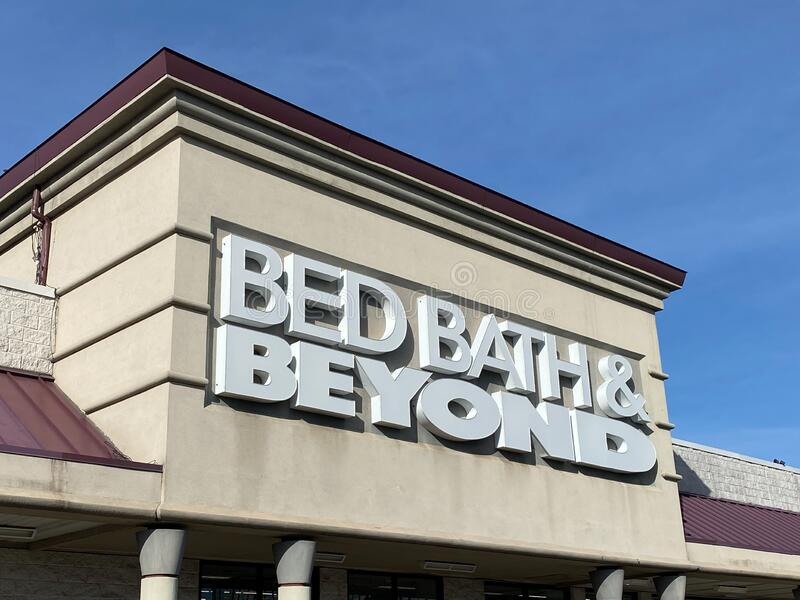 Bed Bath and Beyond in Iselin New Jersey zdjęcie stock