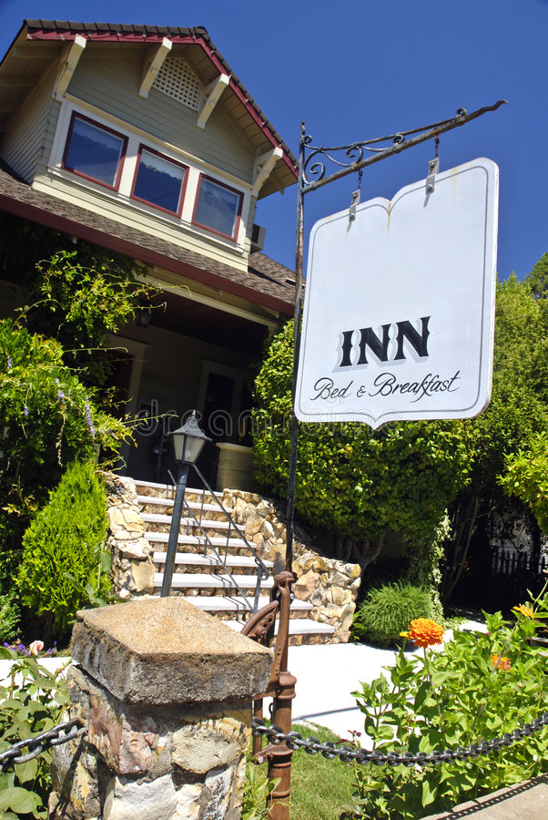 Bed and Breakfast Inn royalty free stock image