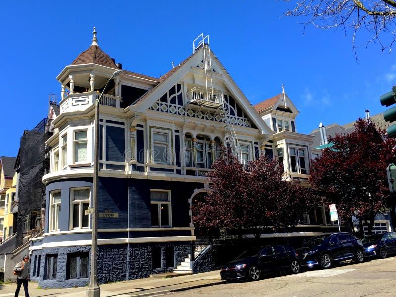 Bed and breakfast vittoriano della locanda, San Francisco, 4 fotografie stock libere da diritti