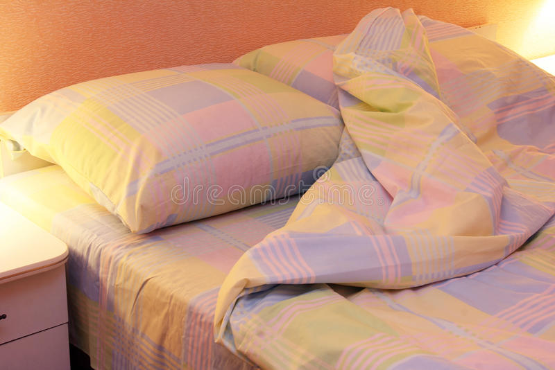 Download Bed clothes stock image. Image of blankets, lamp, sheets - 31167009