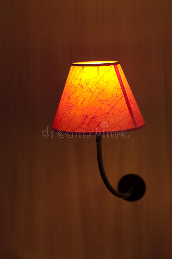 Bed Lamp royalty free stock images