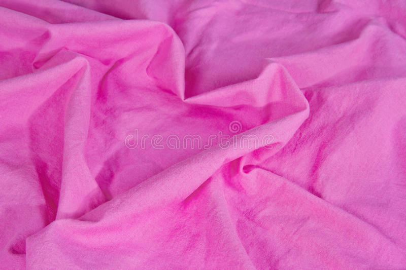 Bed linen shaped as a heart stock image