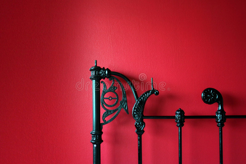 Bed Post Stock Photography