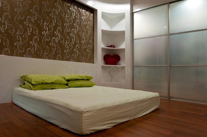 Download Bed room stock image. Image of architecture, apartment - 15758587