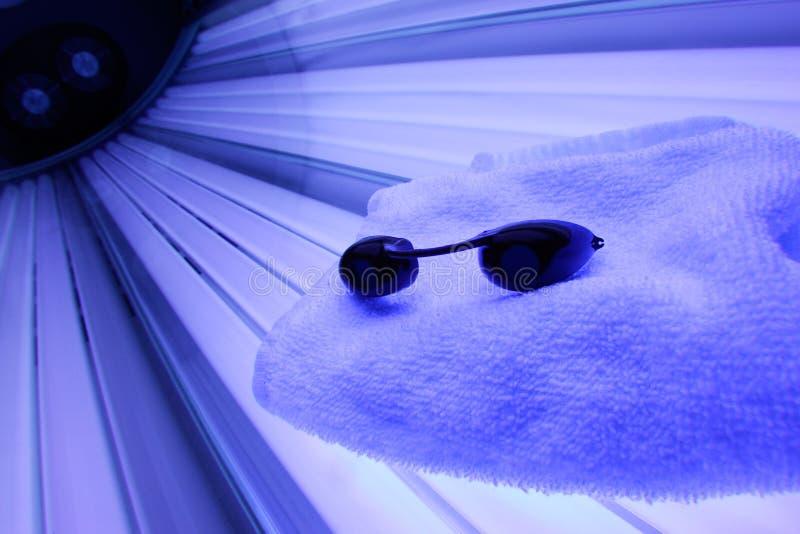bed tanning στοκ φωτογραφία