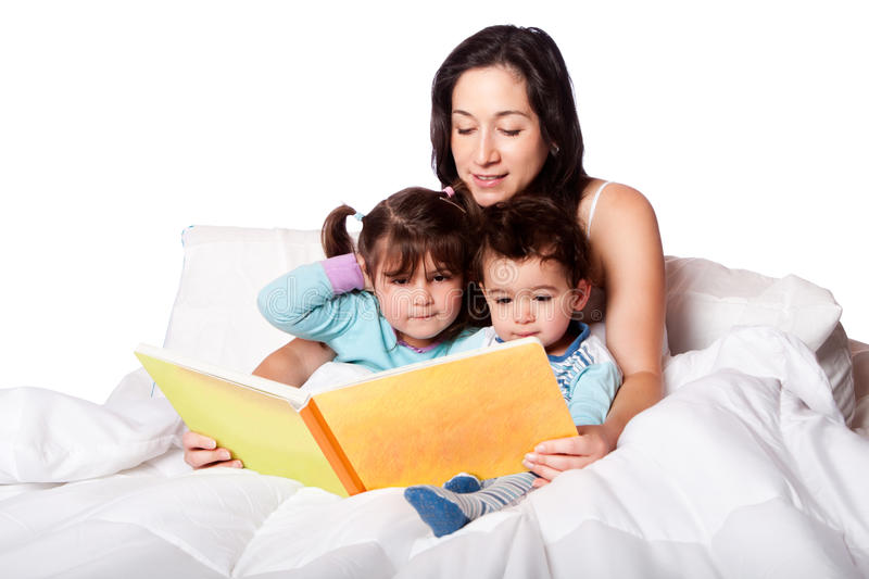 Download Bed time story book stock image. Image of story, sleepy - 30608129