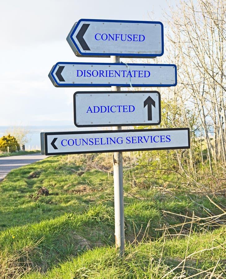 Bedarf an der Beratung von Dienstleistungen lizenzfreies stockbild