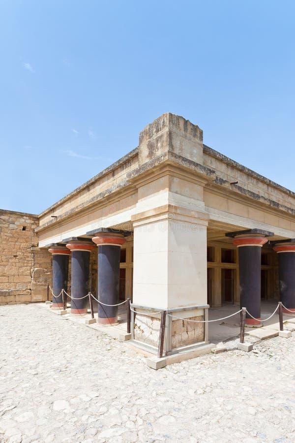 Bedchamber Knossos стоковая фотография rf