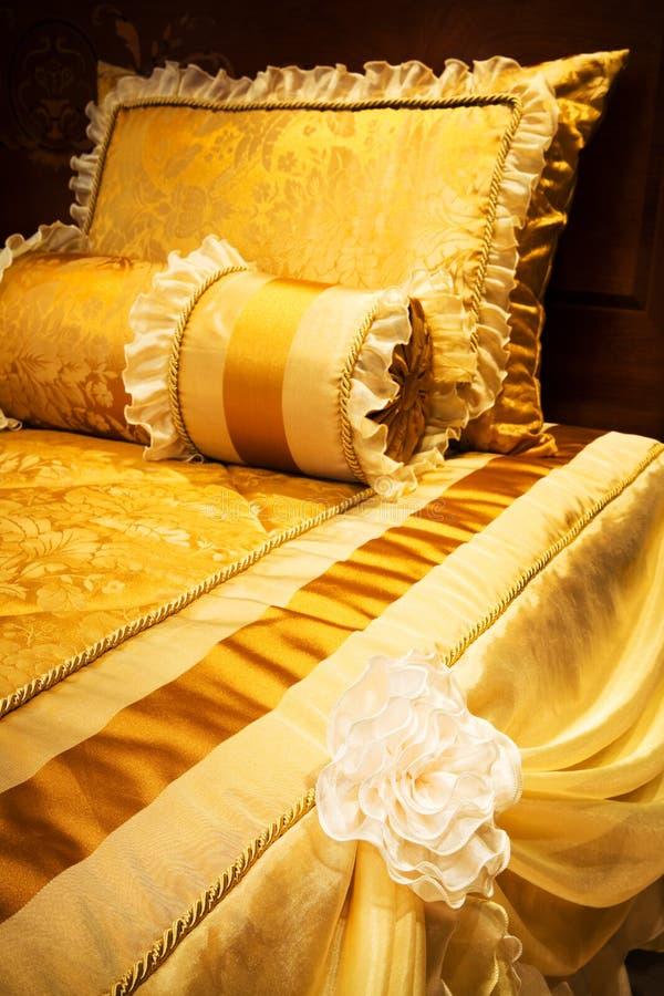 Bedden van modern royalty-vrije stock foto