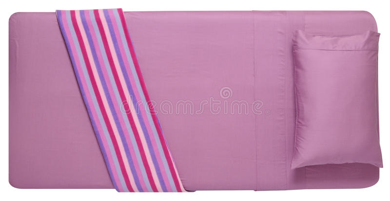 Bedding. Isolated stock images