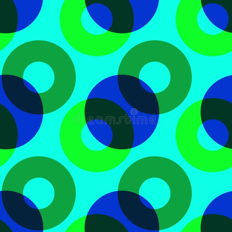 Download Bedeckungsnahtloses Muster Der Farbkreise Vektor Abbildung - Illustration von bunt, deckung: 106804136