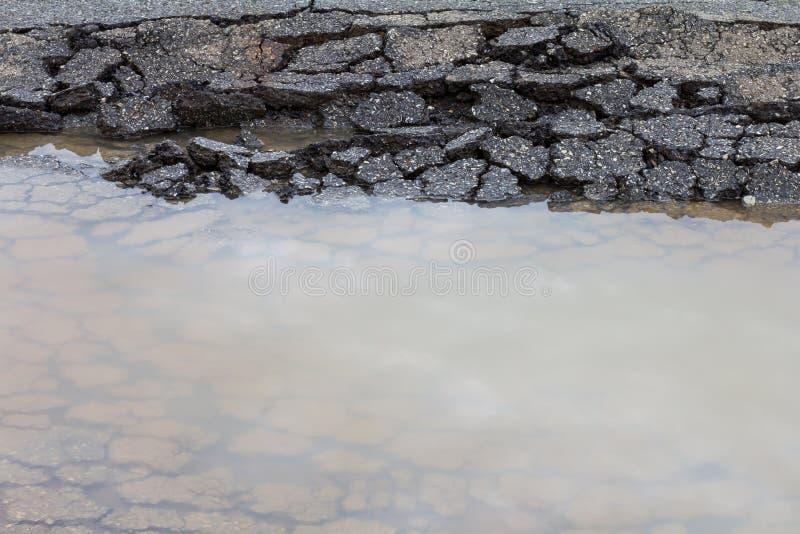 Bedekt oppervlaktewater stock afbeelding