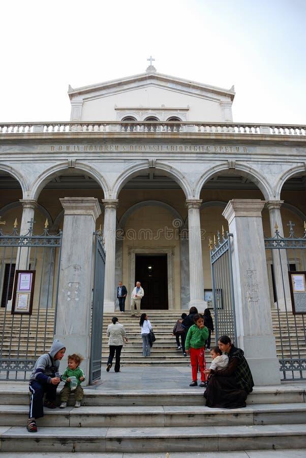 Bedelaar (Athene, Griekenland) stock fotografie