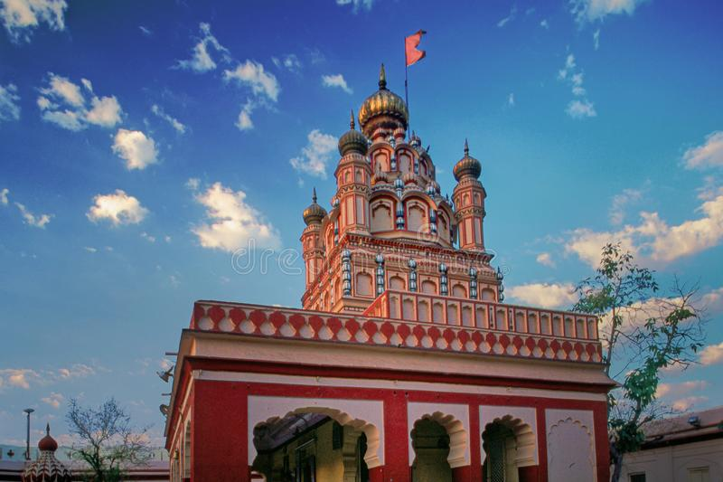 Bedeutung 'Lord Shree Devdeshwar von Lords 'Shiva Temple Pune - Maharashtra lizenzfreies stockbild