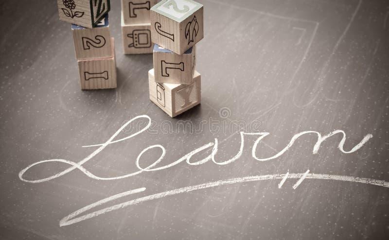 Bedeutung der Ausbildung lizenzfreies stockfoto