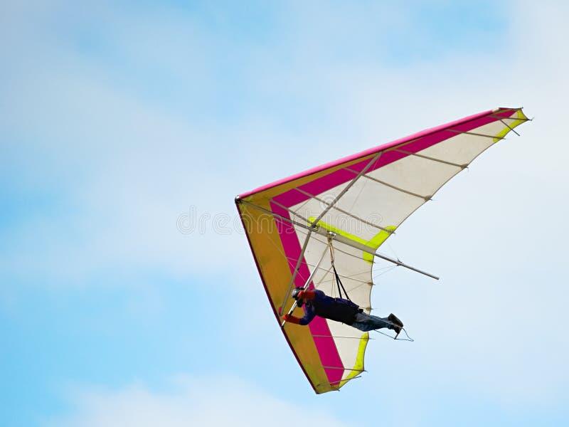 Bedeutungs-Segelflugzeug lizenzfreies stockbild