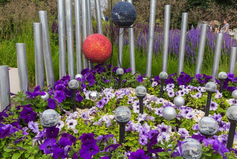 Bedflowers fotografie stock