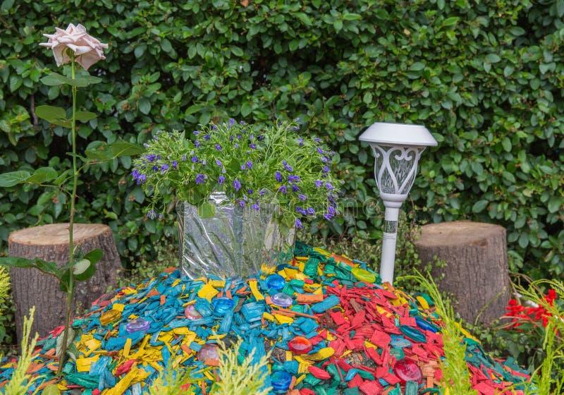 Bedflowers fotografia stock