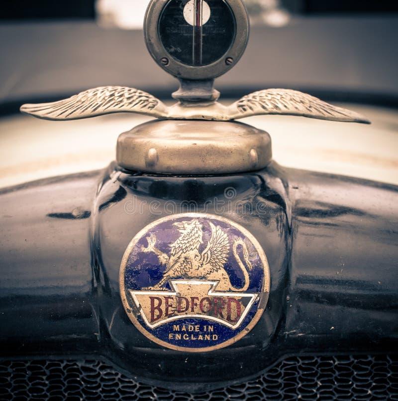Bedford Badge Fatto in Inghilterra fotografia stock