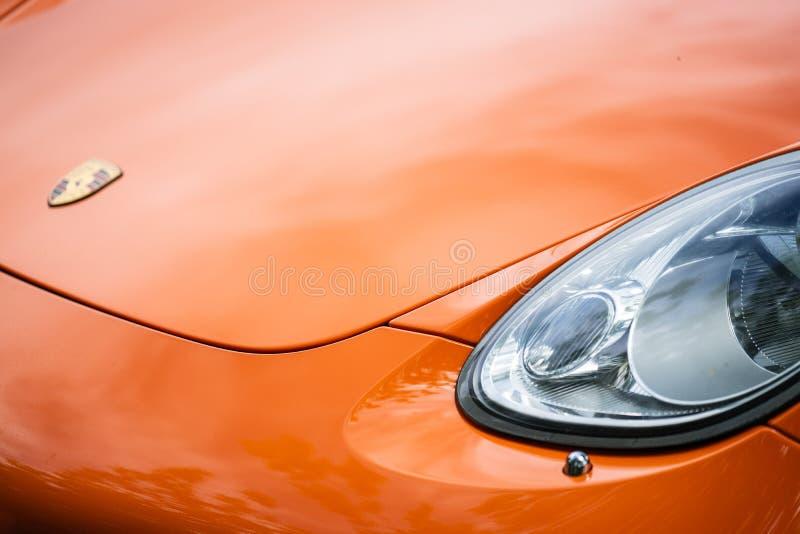 Bedford, Bedfordshire, Großbritannien zersplittern am 2. Juni 2019 von Porsche Cayman S stockbild