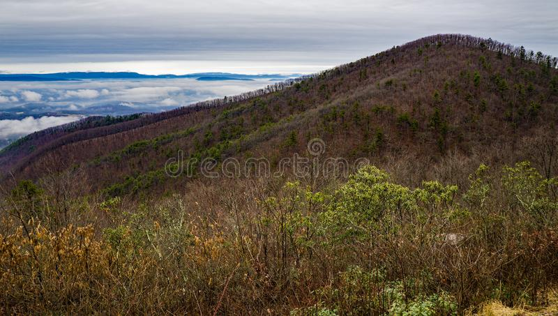 View of Iron Mine Mountain royalty free stock photos