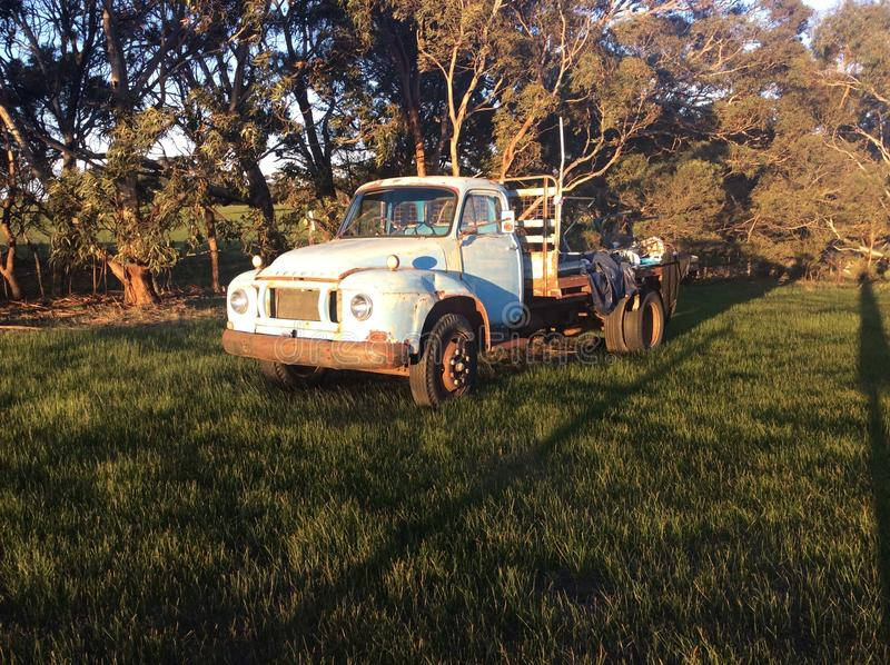 bedford stara ciężarówka obrazy royalty free