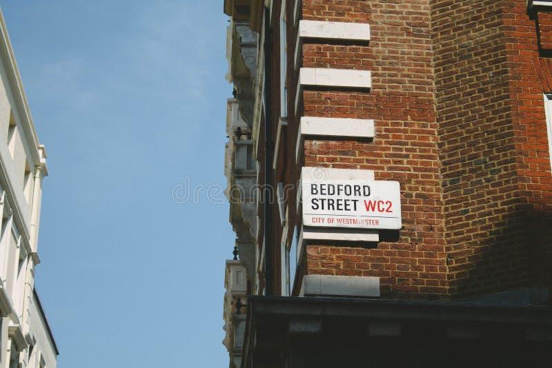 Bedford Street stockfotos